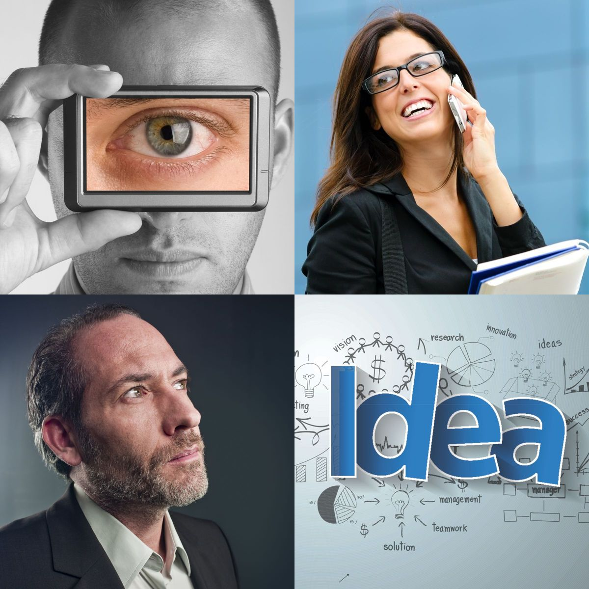Casters of Vision & Implementers of Ideas