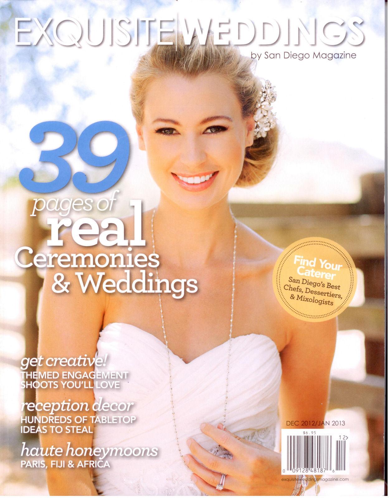 Exquisite Weddings Cover - Dec Jan 2012.jpg