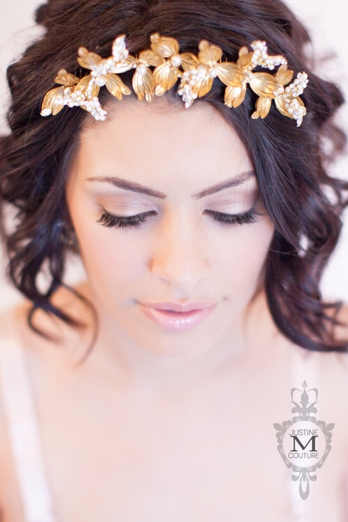 The Cristobel Diadem by Justine M Couture
