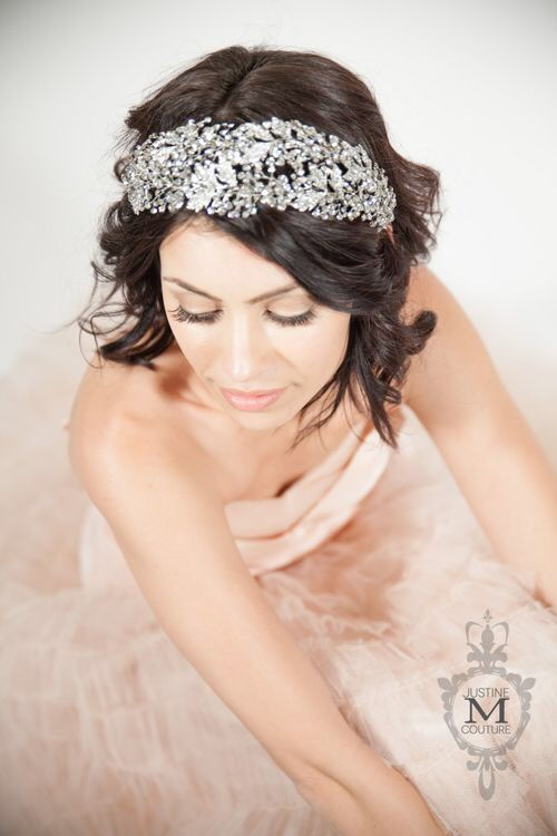 The Belinda Diadem by Justine M Couture