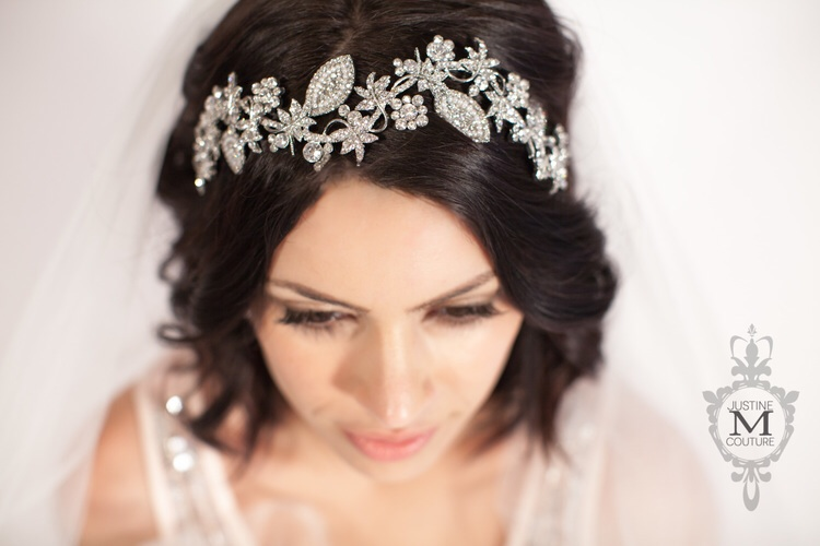 The Paisley Diadem by Justine M Couture