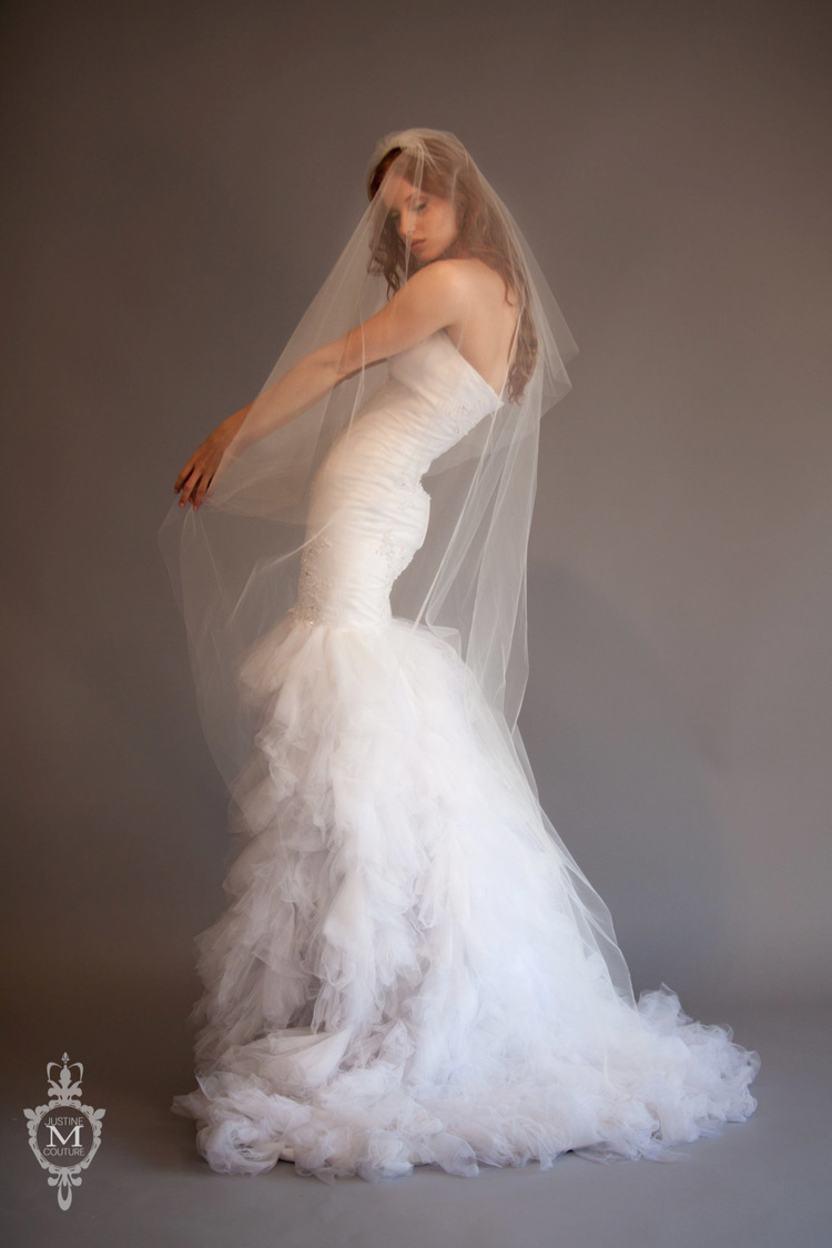 The Felicity Veil from the Justine M Couture Circular Veil Collection