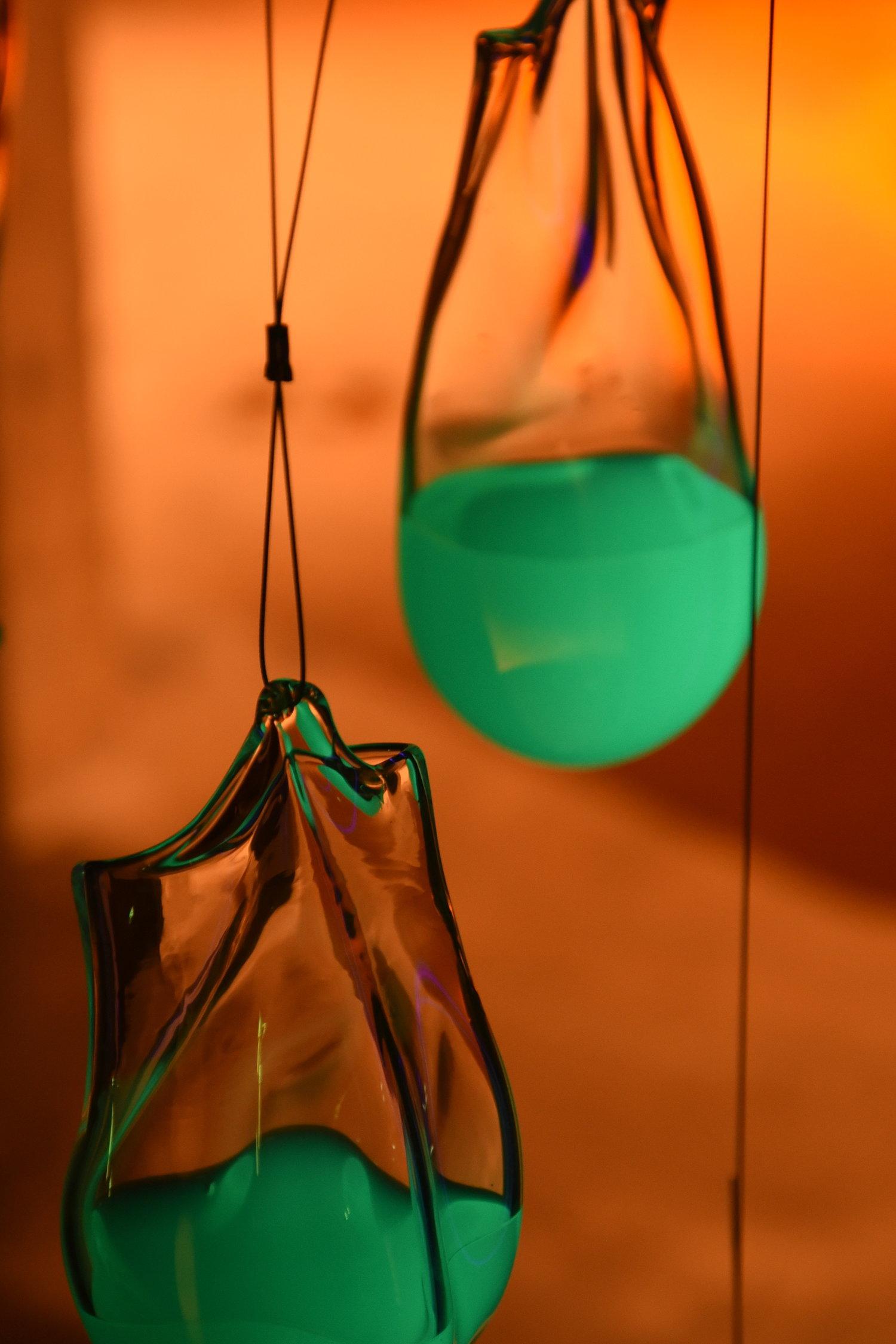 Atelier Aitken Biodesign Exhibition Isaac Katzoff glass bags 1.jpg