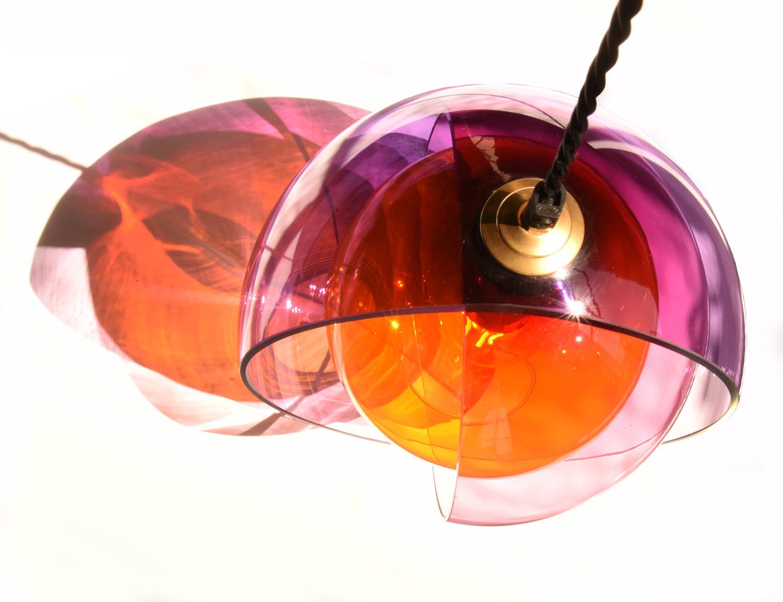 Atelier Aitken Monmouth Chromatherapy Orange Pink Purple Menage a Trois Pendant 2.jpg