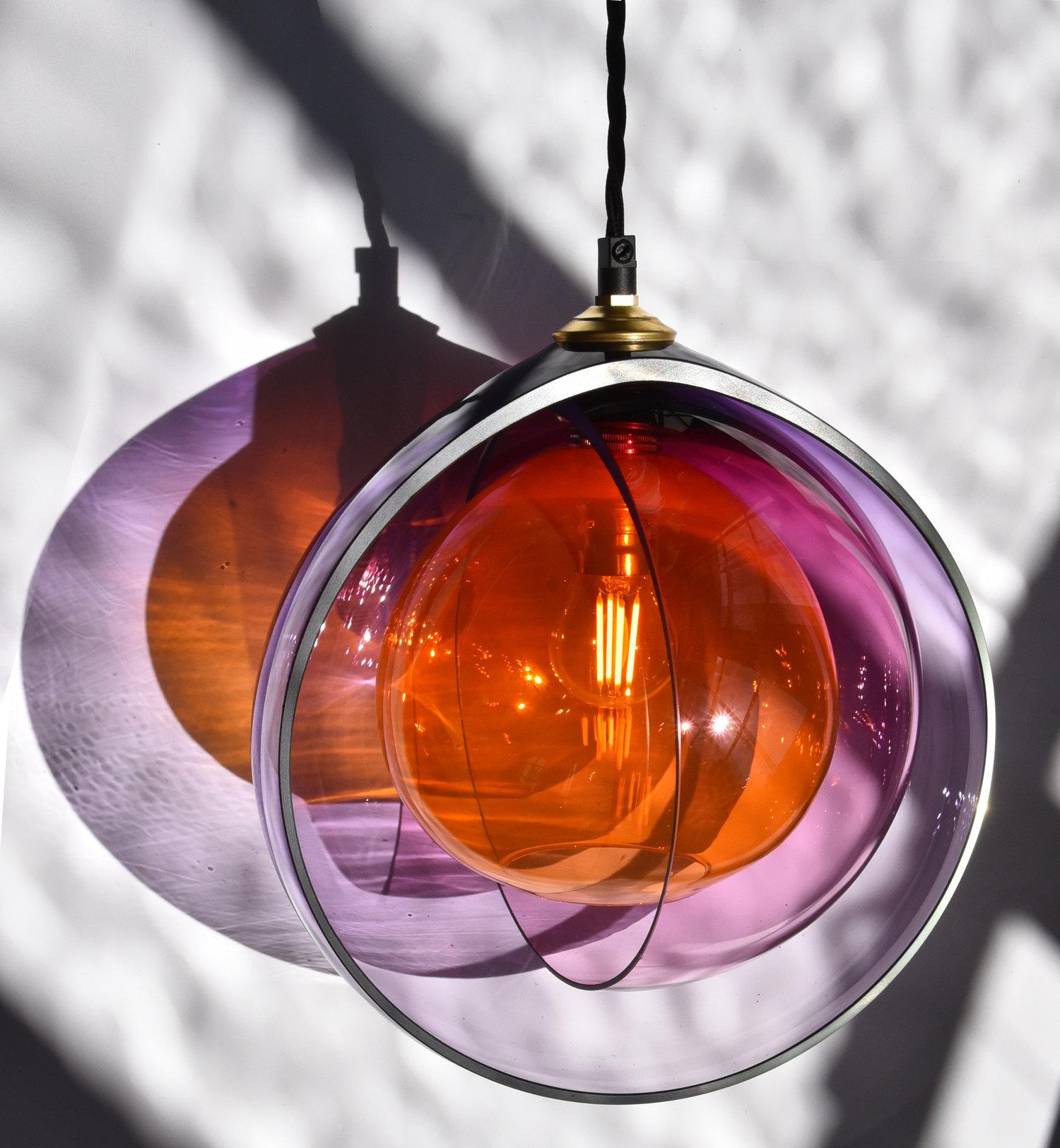 Atelier Aitken Monmouth Chromatherapy Orange Pink Purple Menage a Trois Pendant.jpg