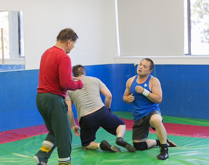 Wrestling at PCYC Erindale Centre