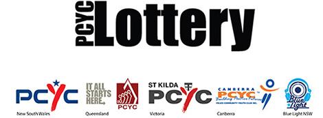 PCYC Lottery logo & link