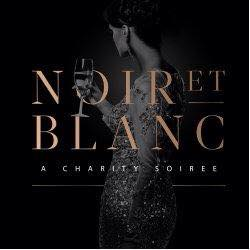 Noir et blanc supplied image- Lady with champagne