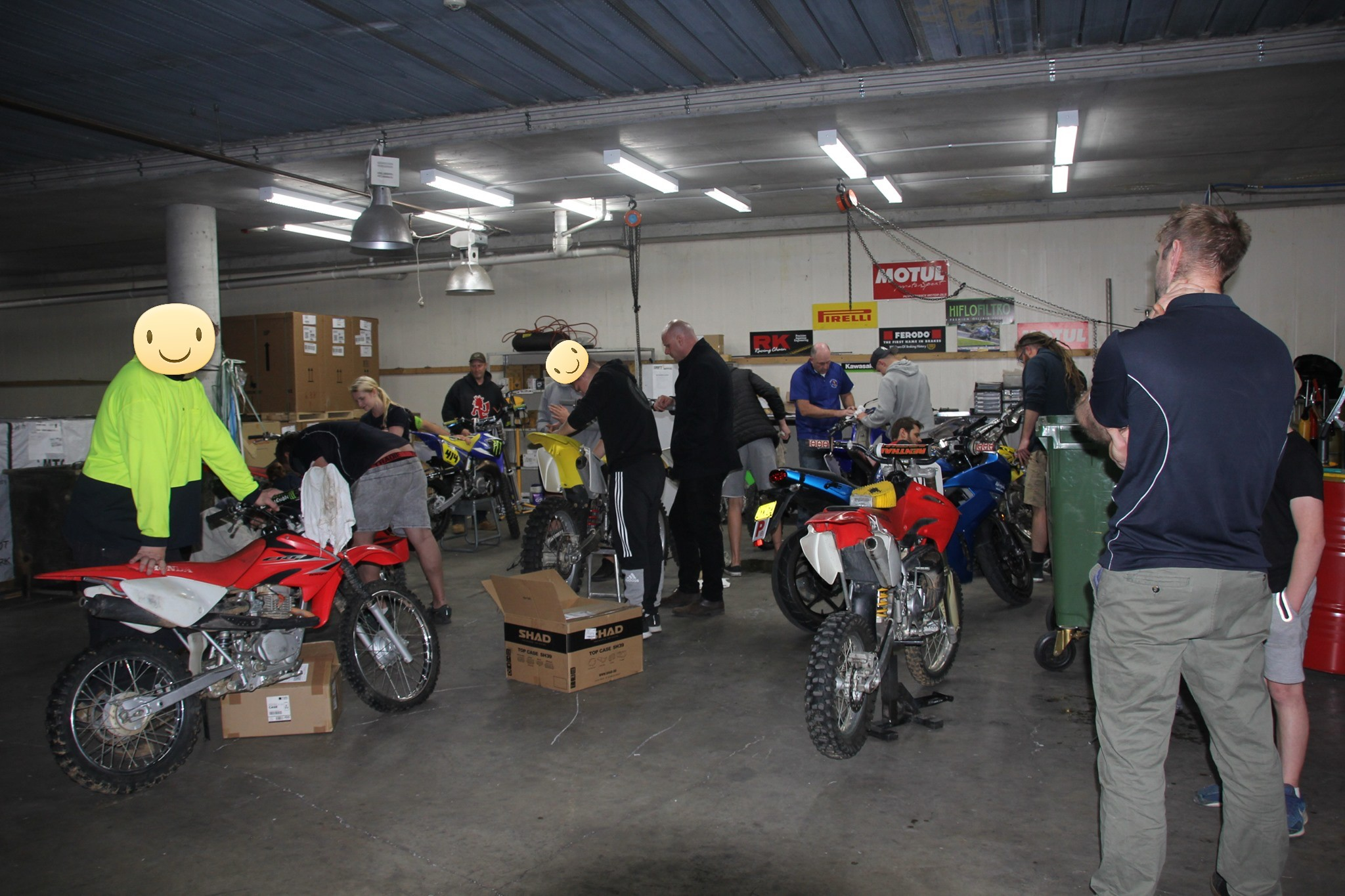 Work Experience Trial Program thanks to the support of Canberra Motorcycle Centre