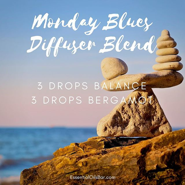 Defeat those Monday Blues with this uplifting diffuser blend!