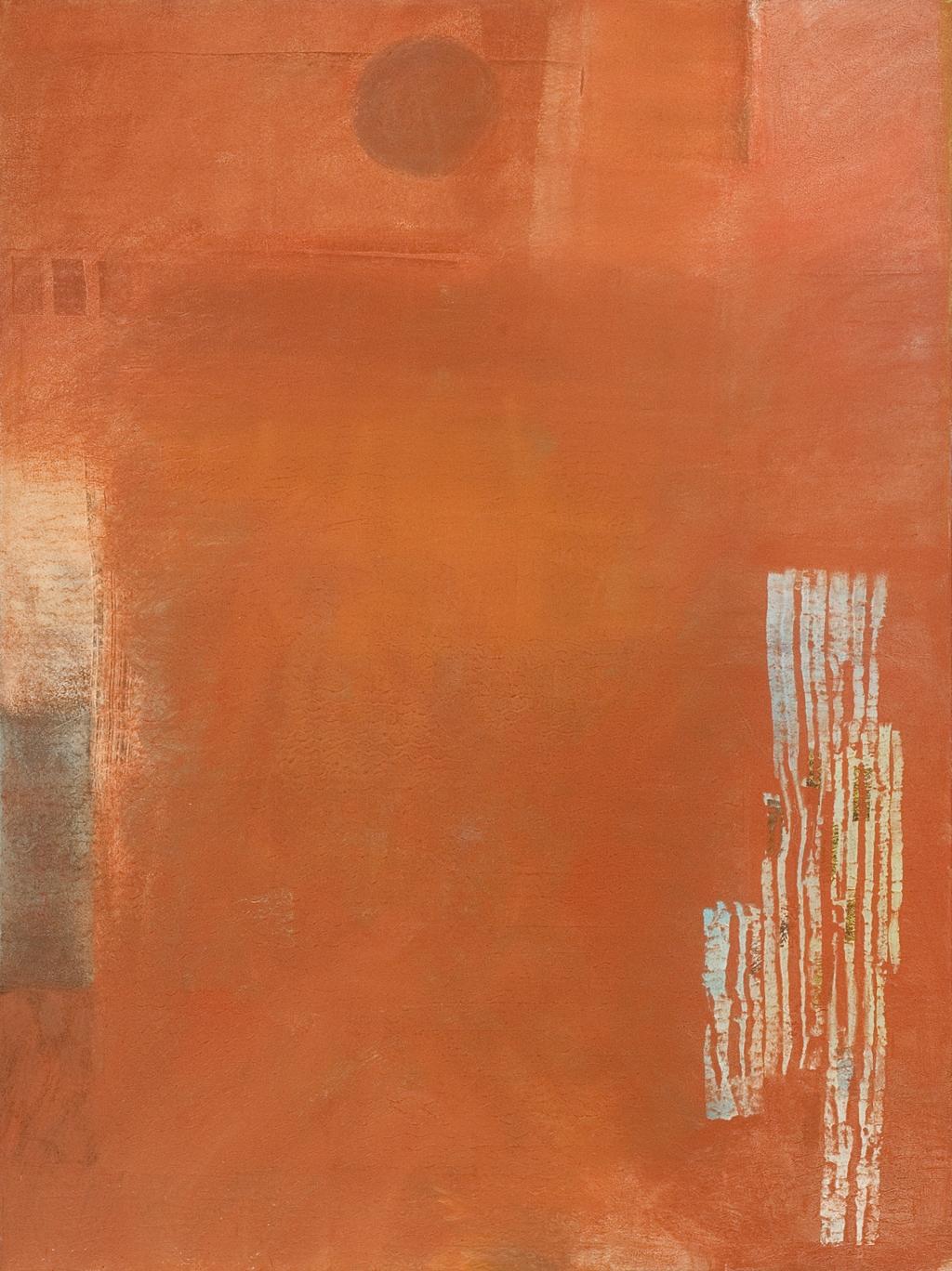 """Haiku, oil on canvas, 48"""" x 36"""""""