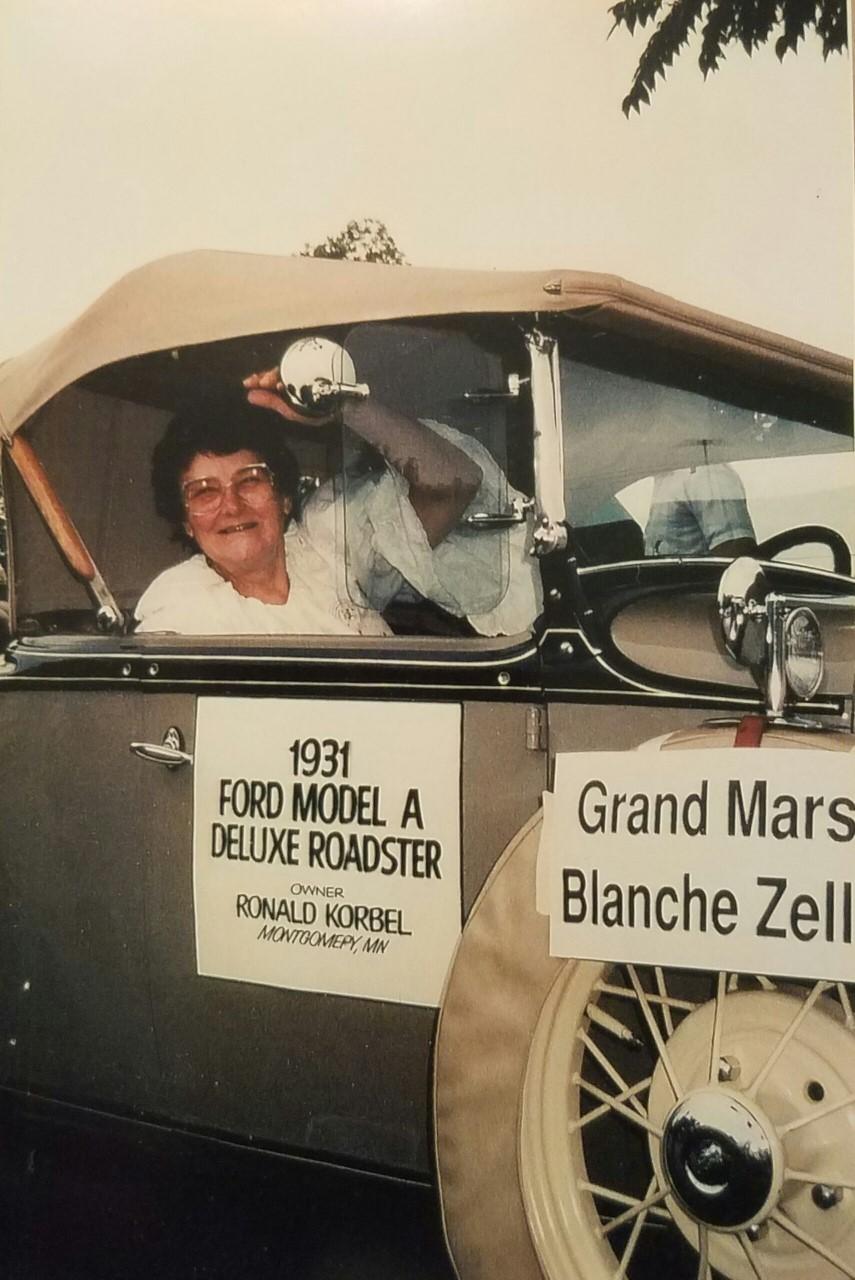 1991 - Blanche Zellmer
