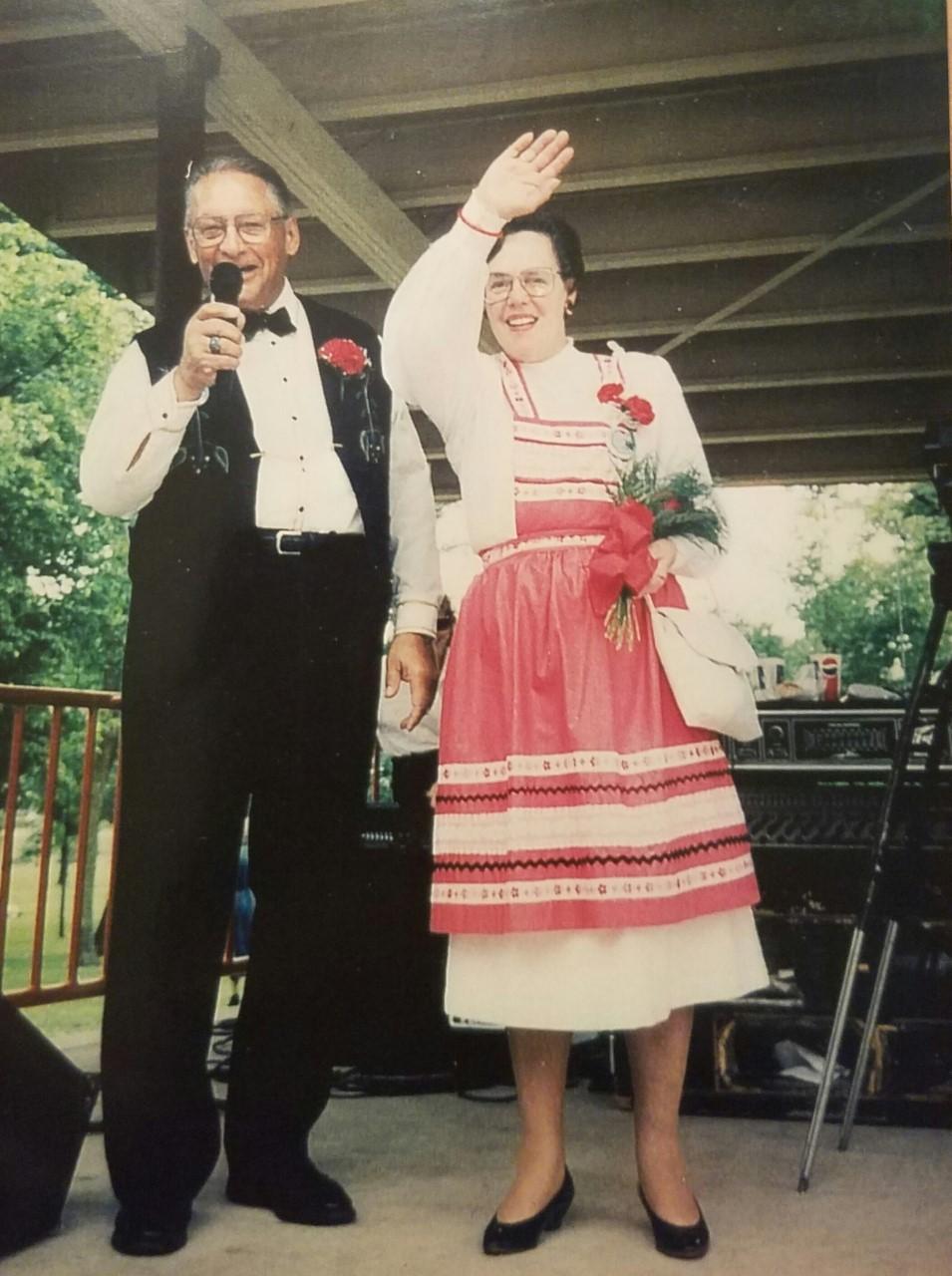 1992 - Glen & Marge Flicek