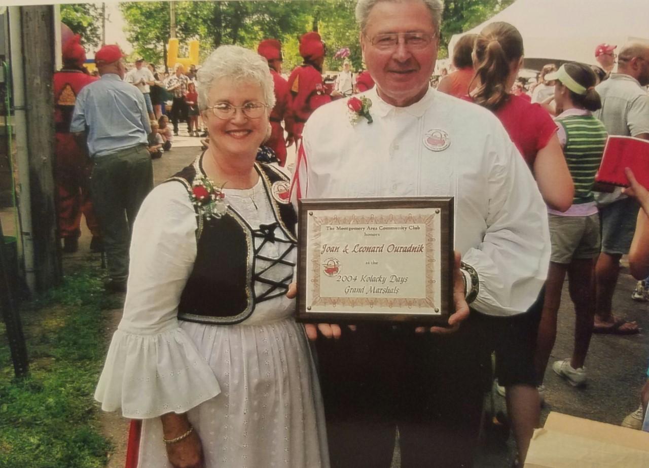 2004 - Leonard &Joan Ouradnik