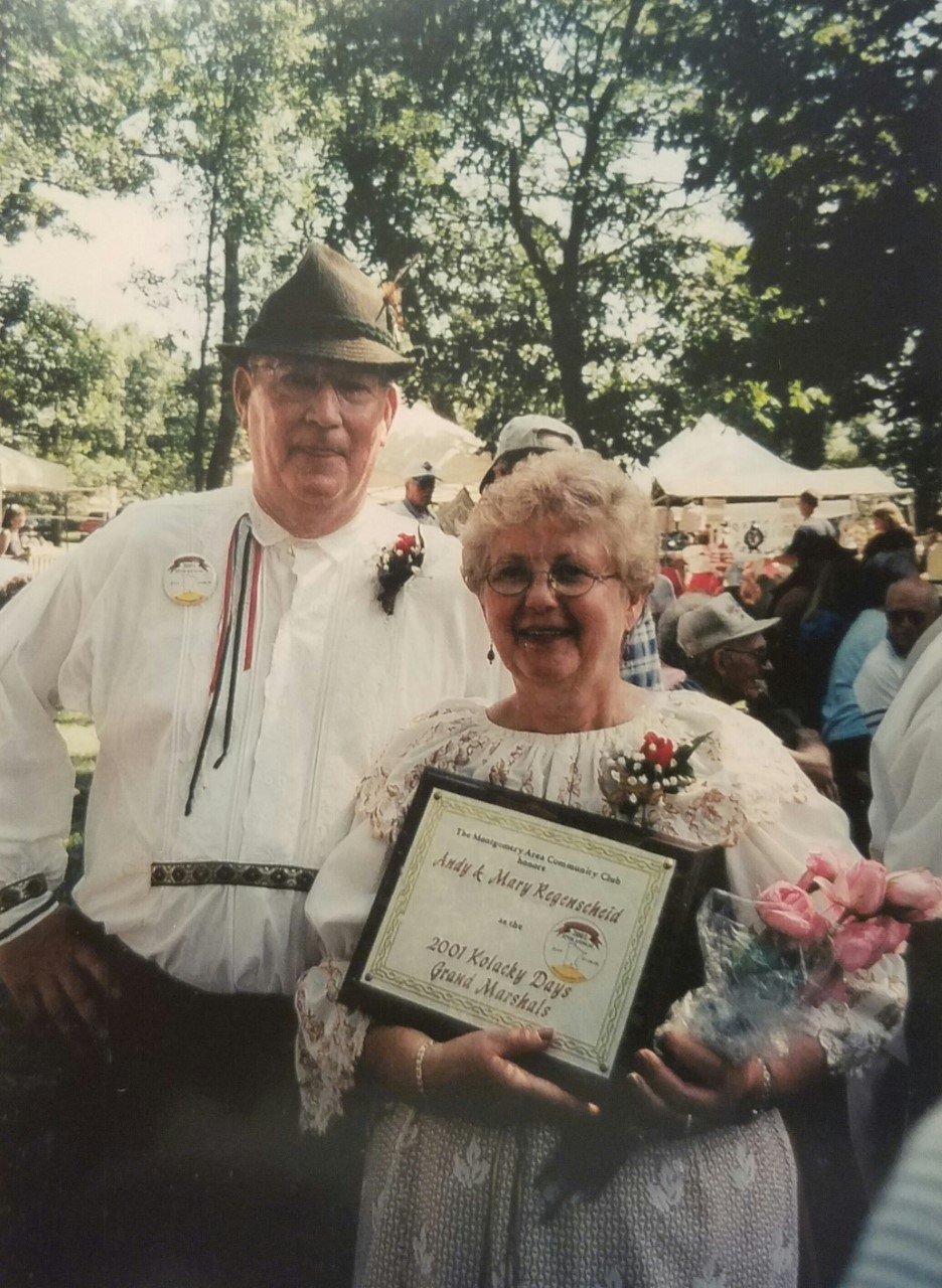 2001 - Andy & Mary Regenscheid