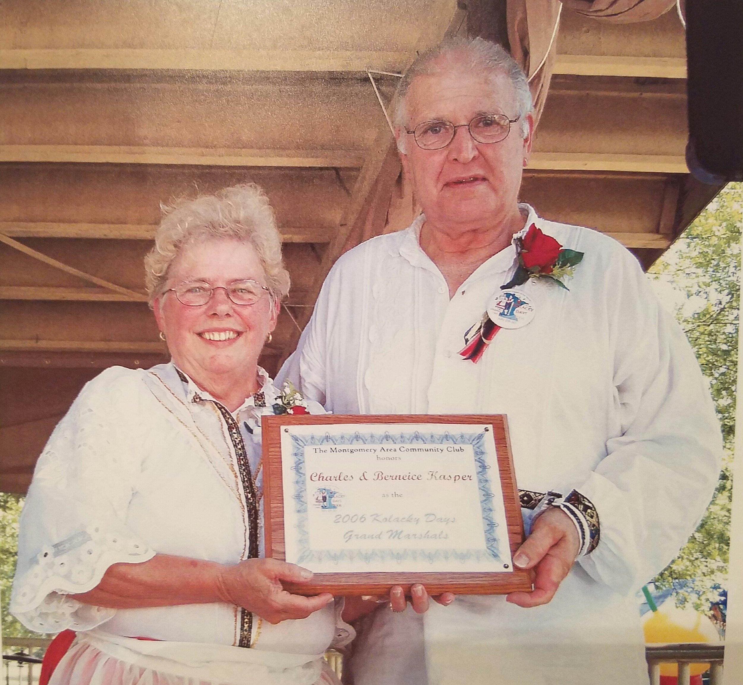 2006 - Chuck & Berneice Kasper