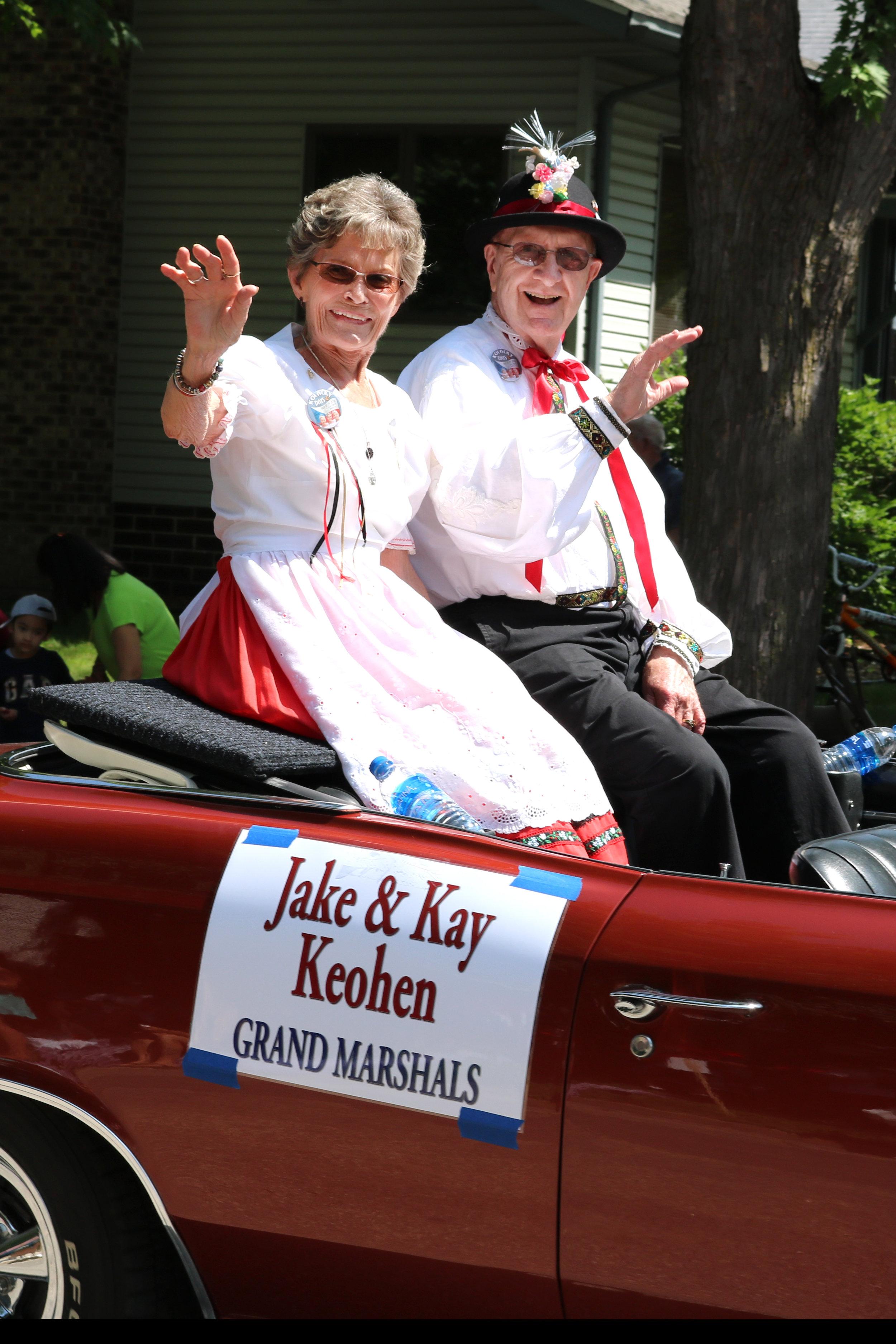2018 - Jake & Kay Keohen
