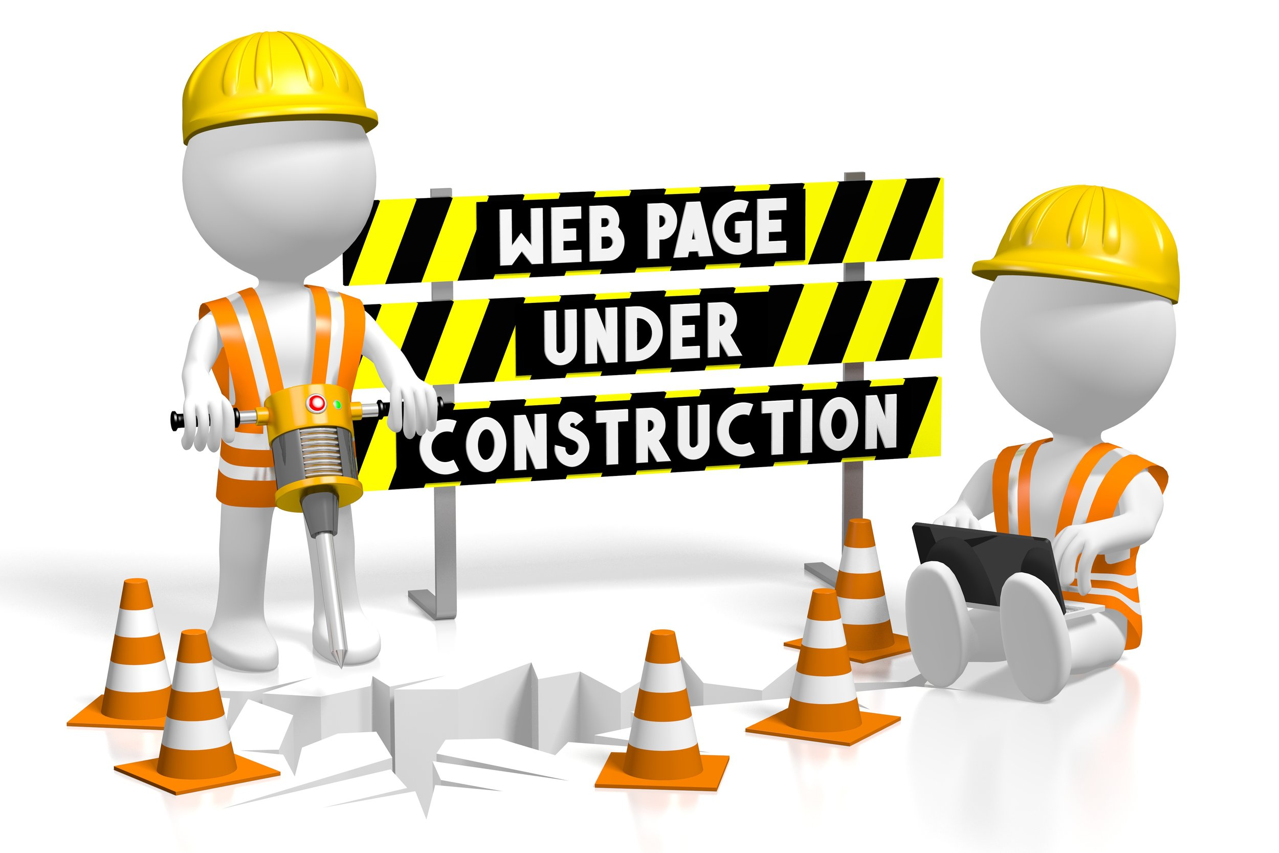 We've been working hard on our remodel, And the construction crew is almost done! - Thanks for your patience.