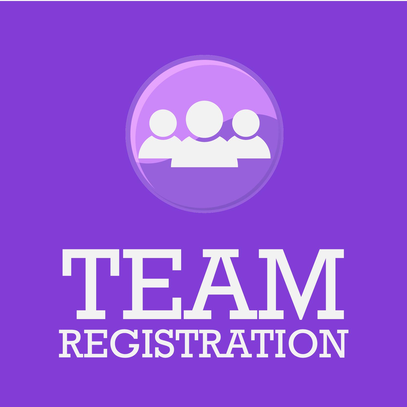 Register a team -