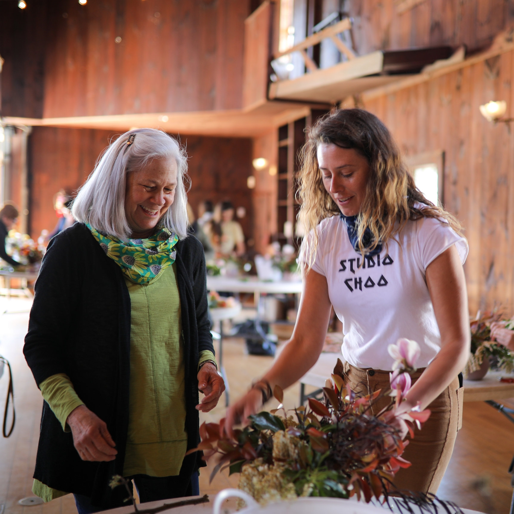 Earth Day Workshop at Mount Hope Farm. Photographed by Maaike Bernstrom.