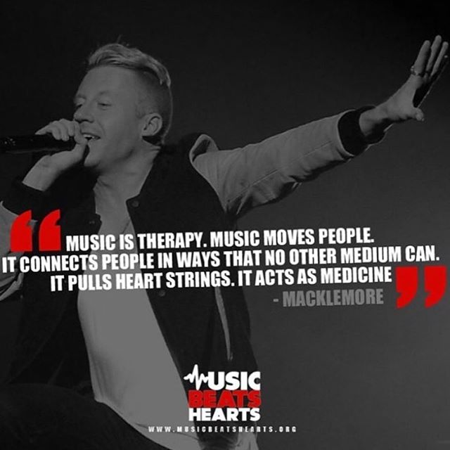This our motto at @musicbeatshearts !! We believe that music is medicine and it should be used as therapy in every hospital!! Help us accomplish this goal by visiting our website and giving back to those in need!!