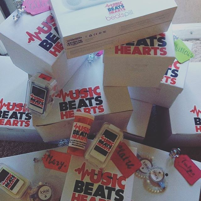 Our goal at #MusicBeatsHearts is to make sure every person in need is gifted with our medicine...MUSIC!!