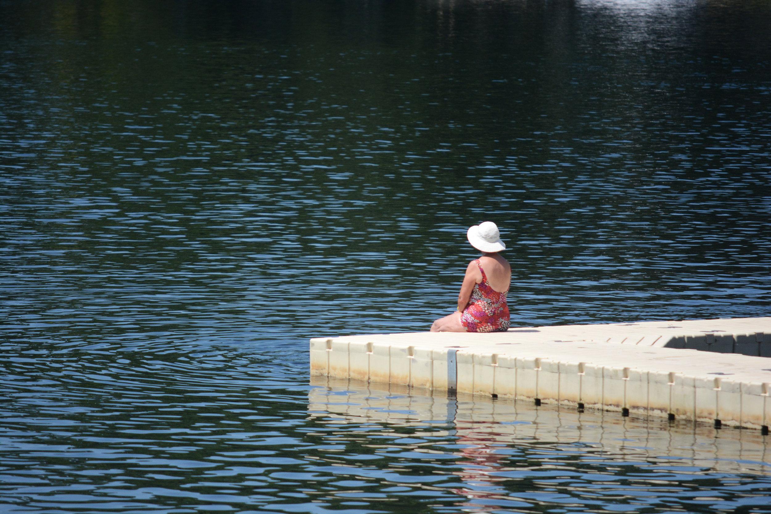 Lady On Lake, 2017