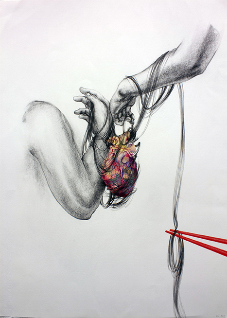 Wearing My heart on My Sleeve # 1