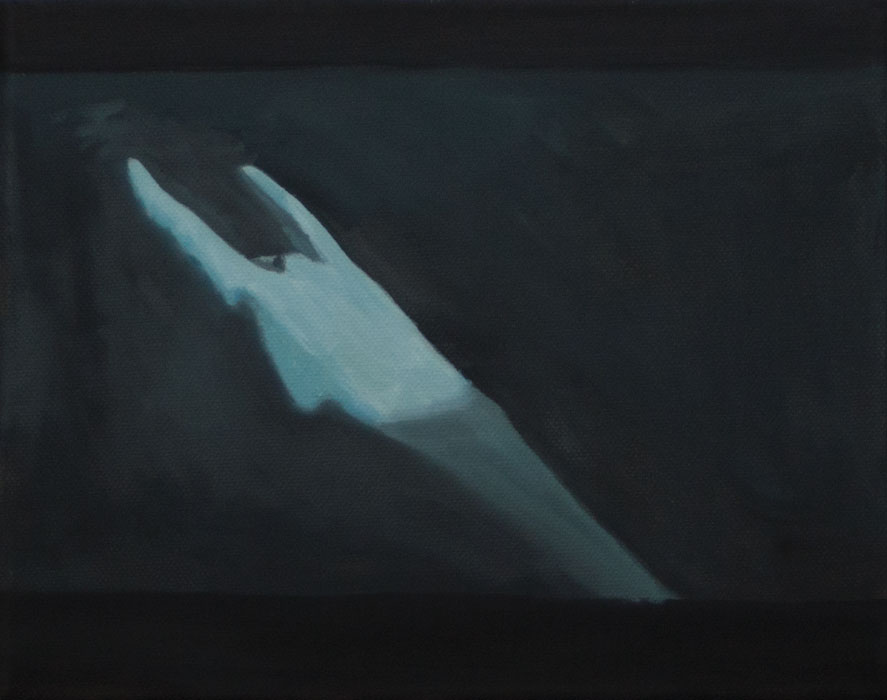 The Calling of St. Matthew 2012 oil on canvas 10 x 12 in.
