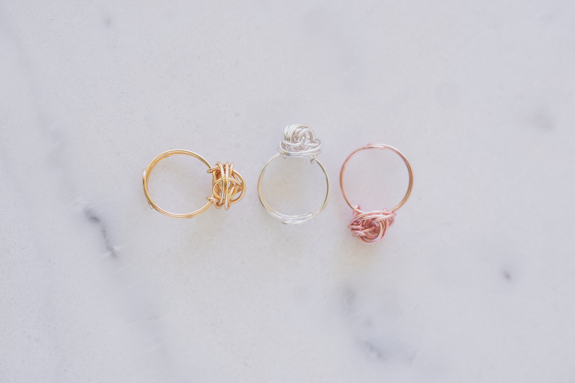 Colors Displayed : Gold, Silver, RoseGold