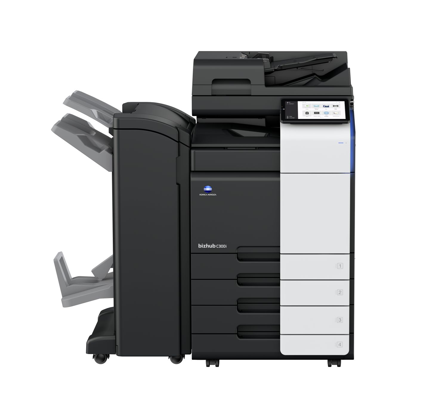 bizhub C300i with finisher.jpg