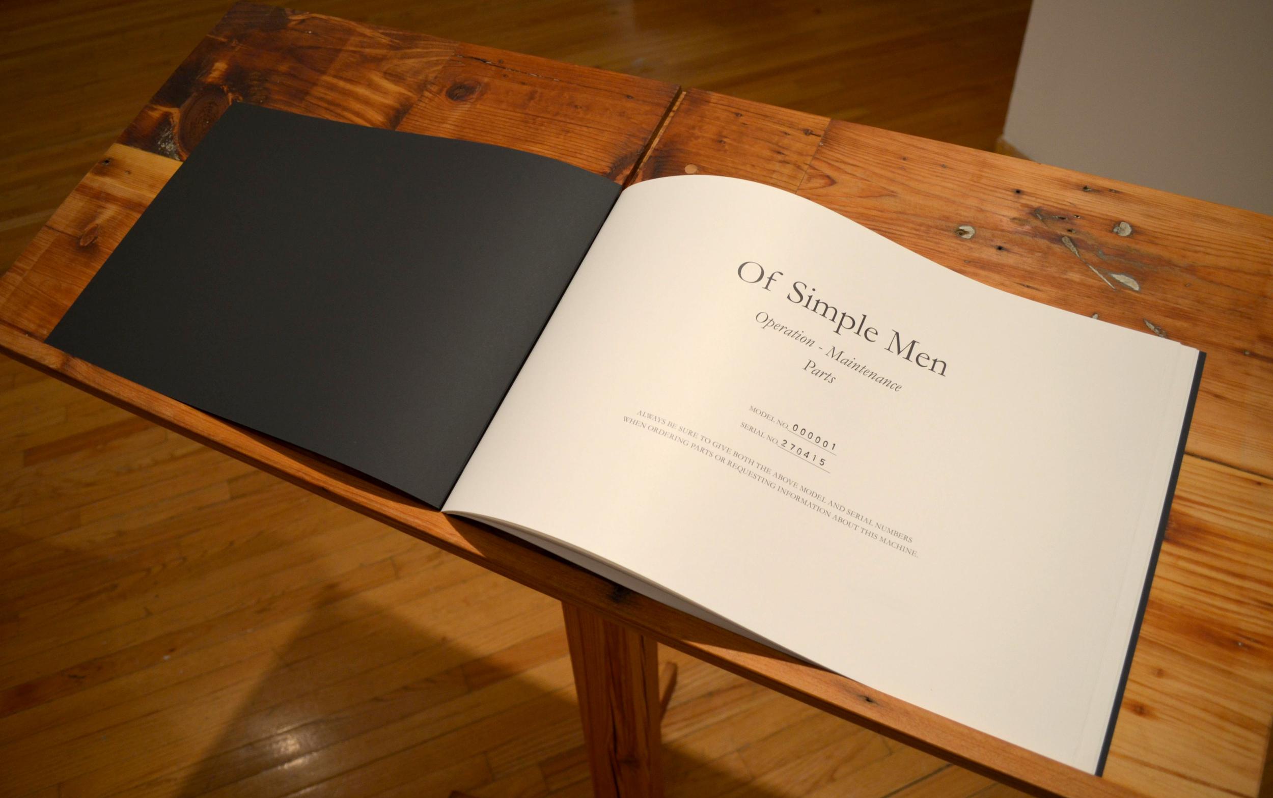 Of Simple Men: Operation - Maintenance - Parts