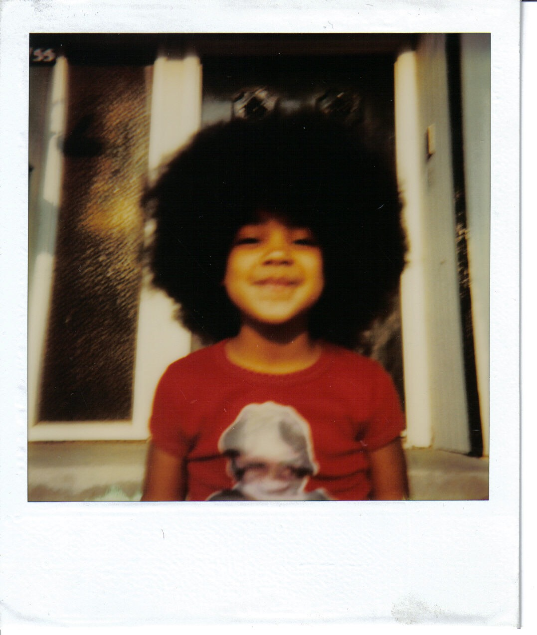 Me and My natural hair. Circa 1979.