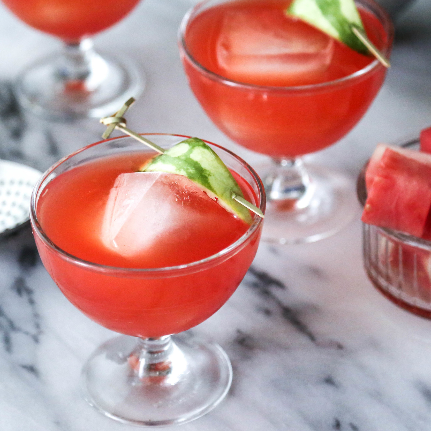 Watermelon Negroni