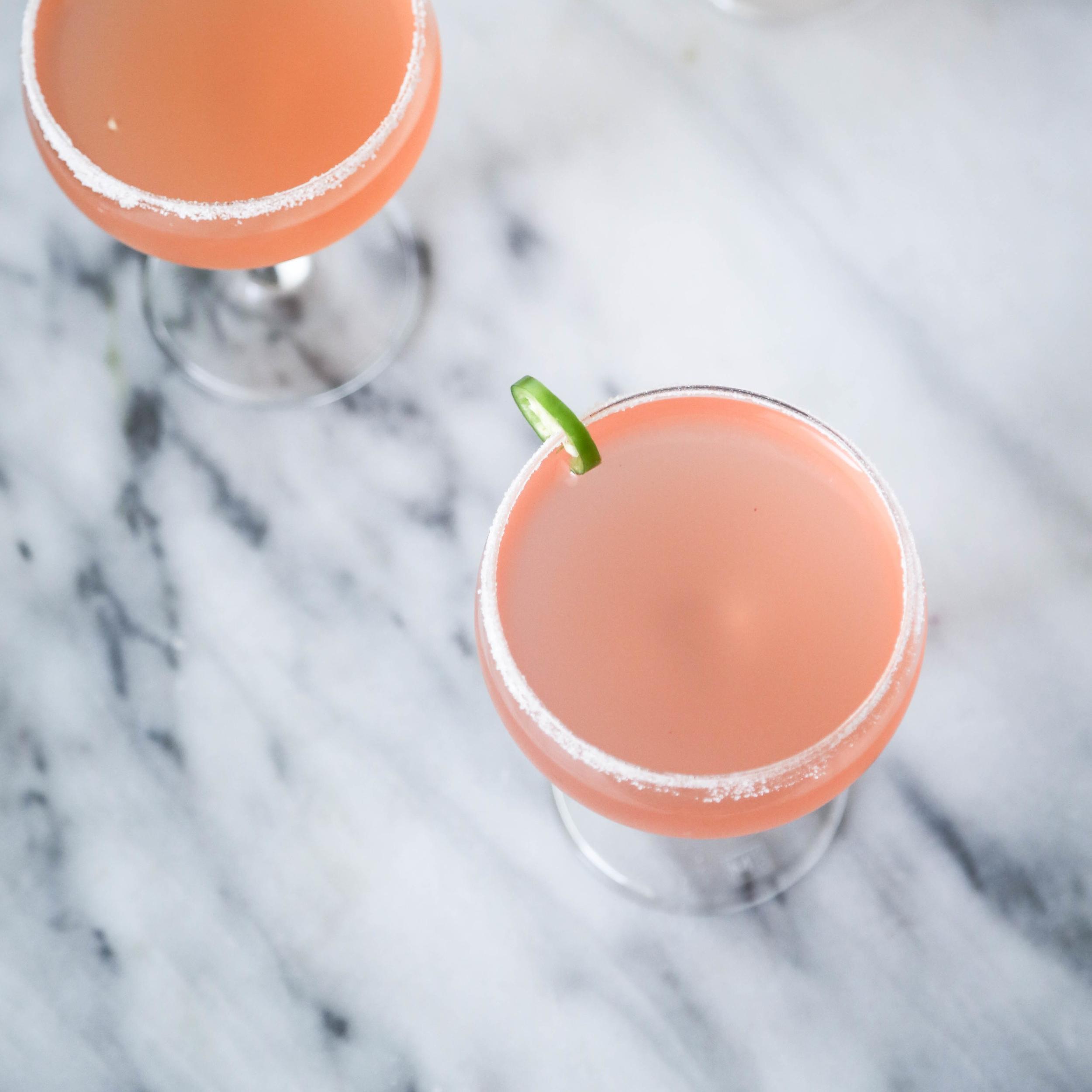 Peach & Serrano Margarita