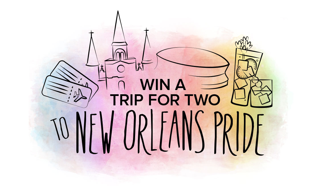 Win a Trip for Two to NOLA Pride -