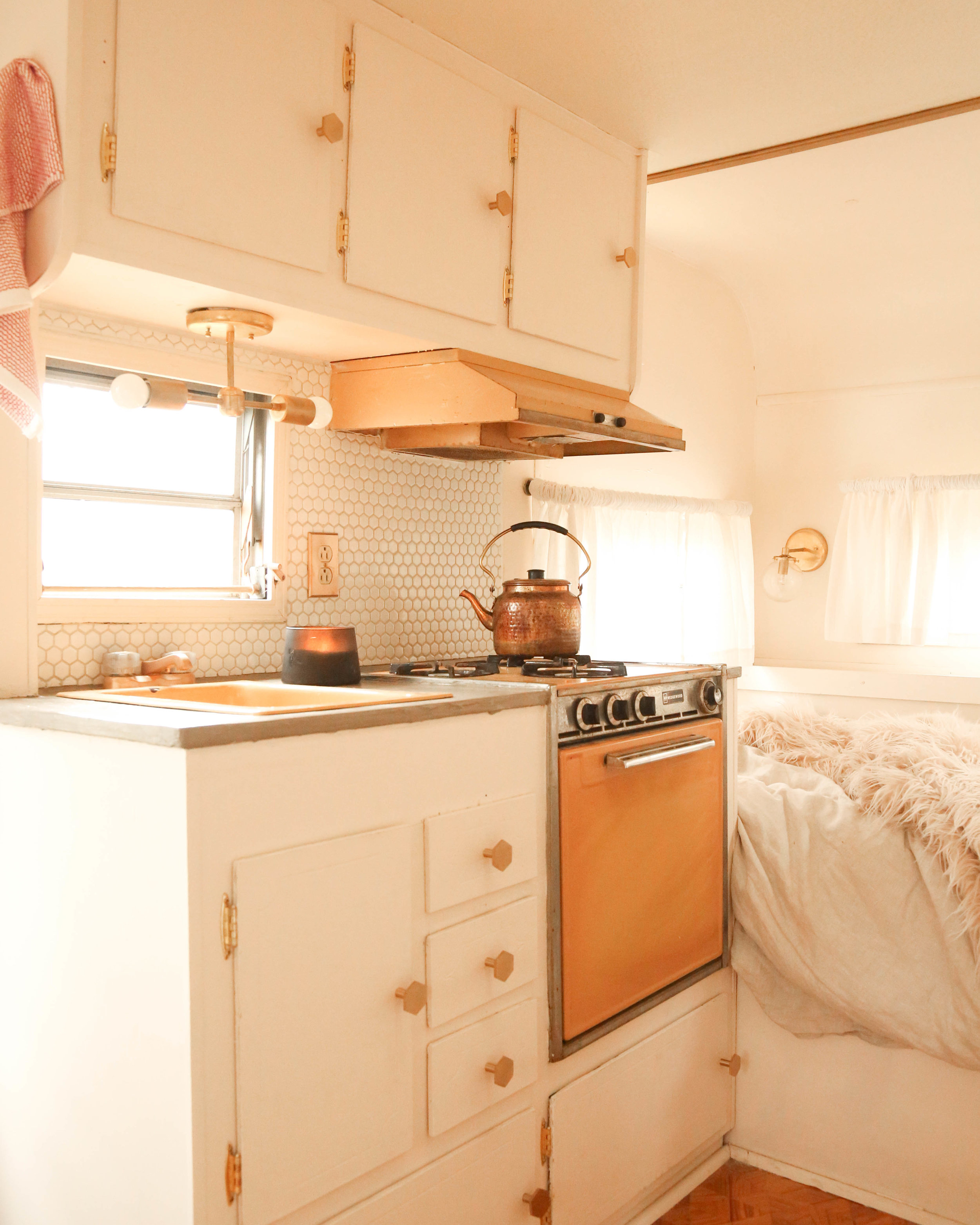 Vintage Camper Renovation: Rosie Reveal — Probably This