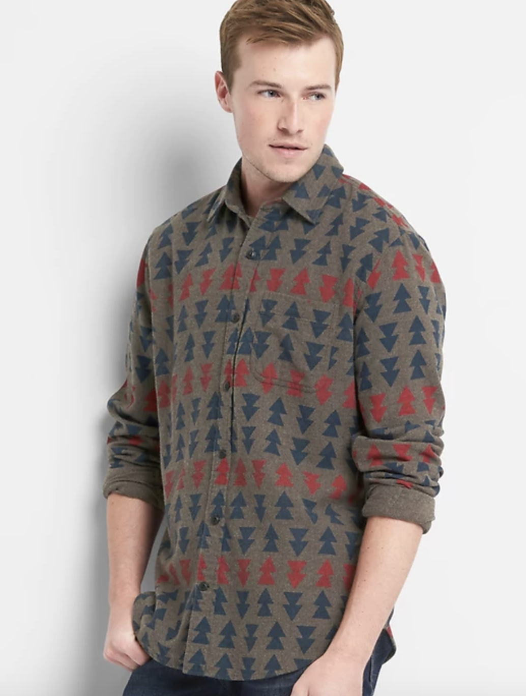 Print Flannel Shirt - $24.95