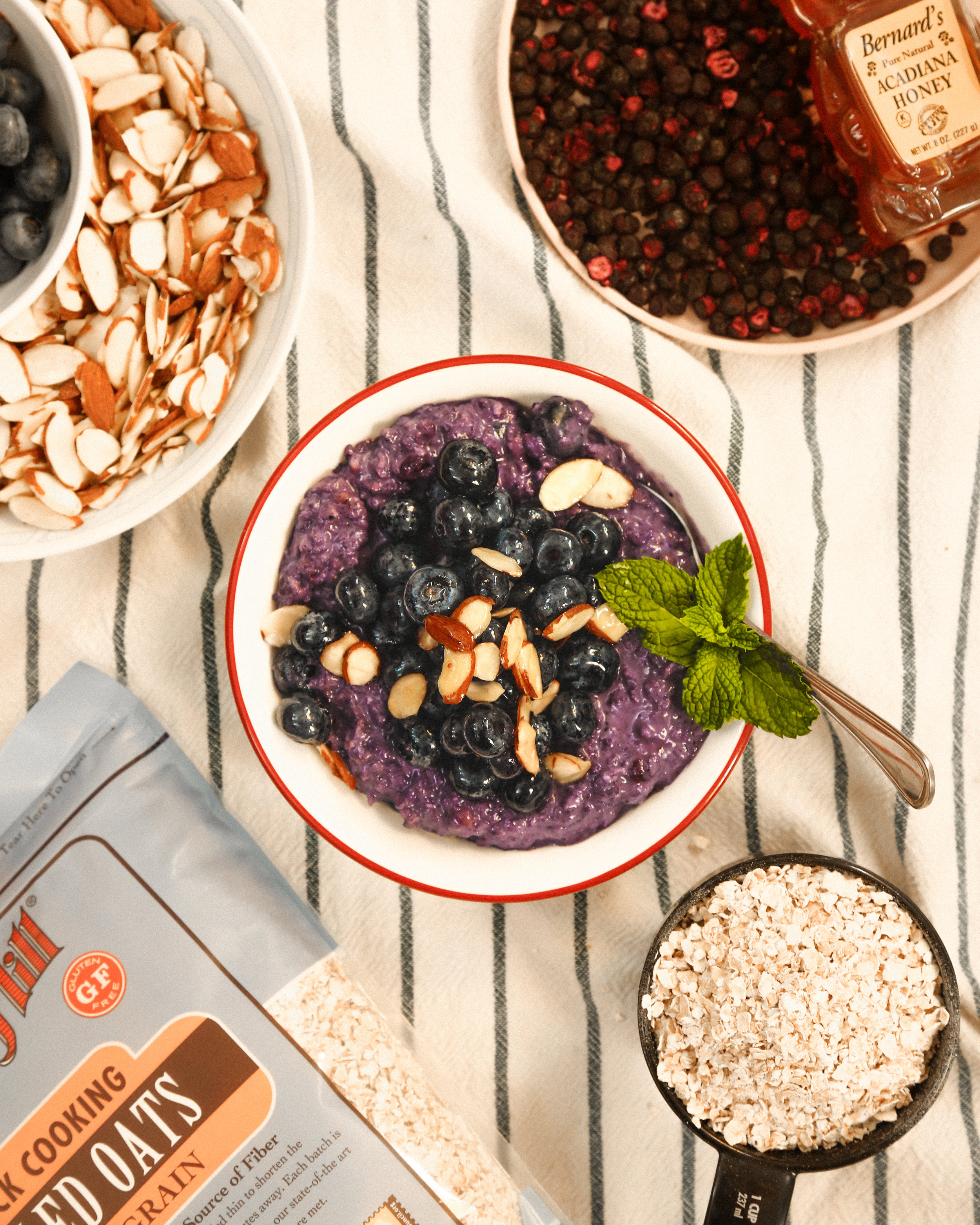 blueberry instant oats