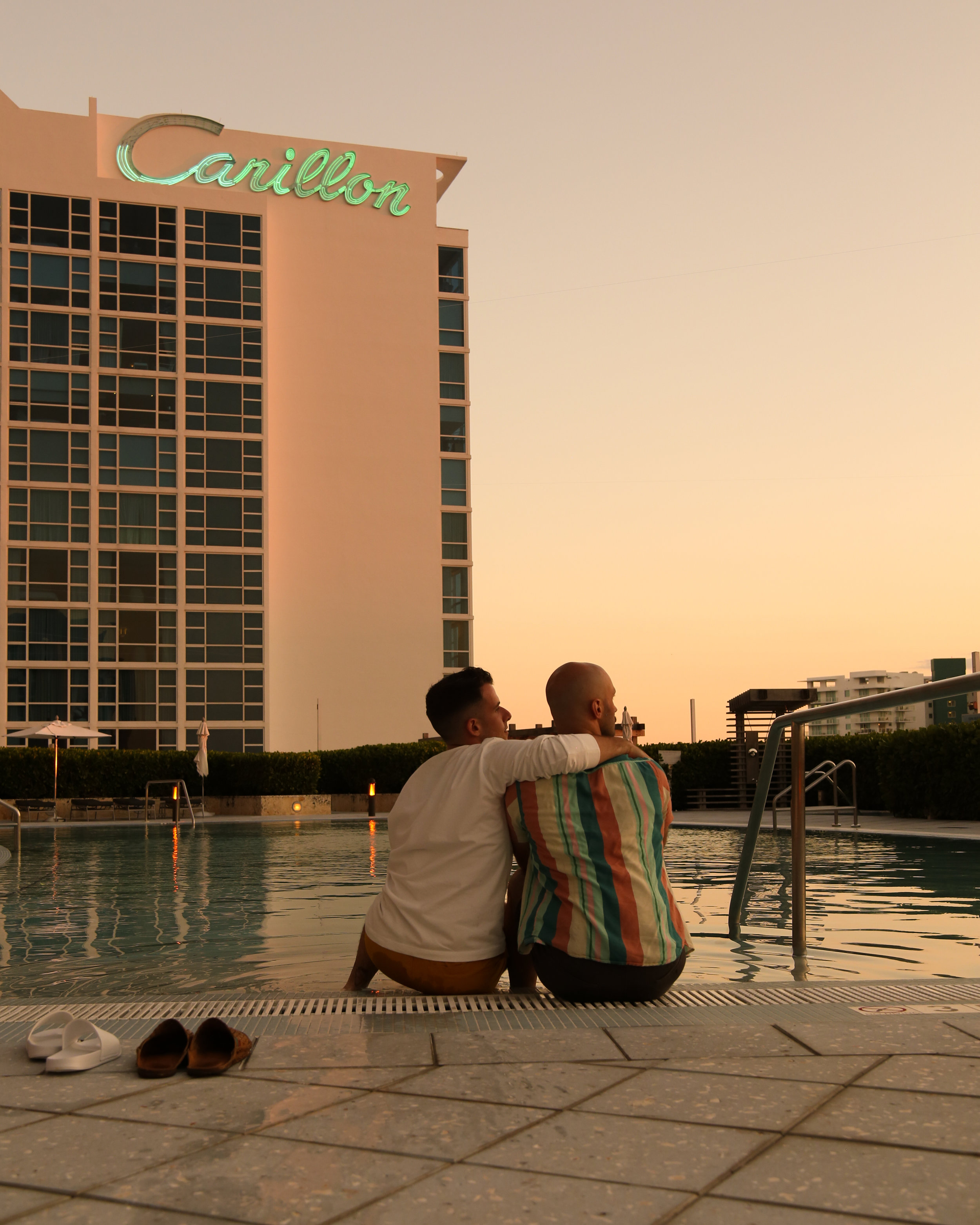 The Carillon Sunset Pool