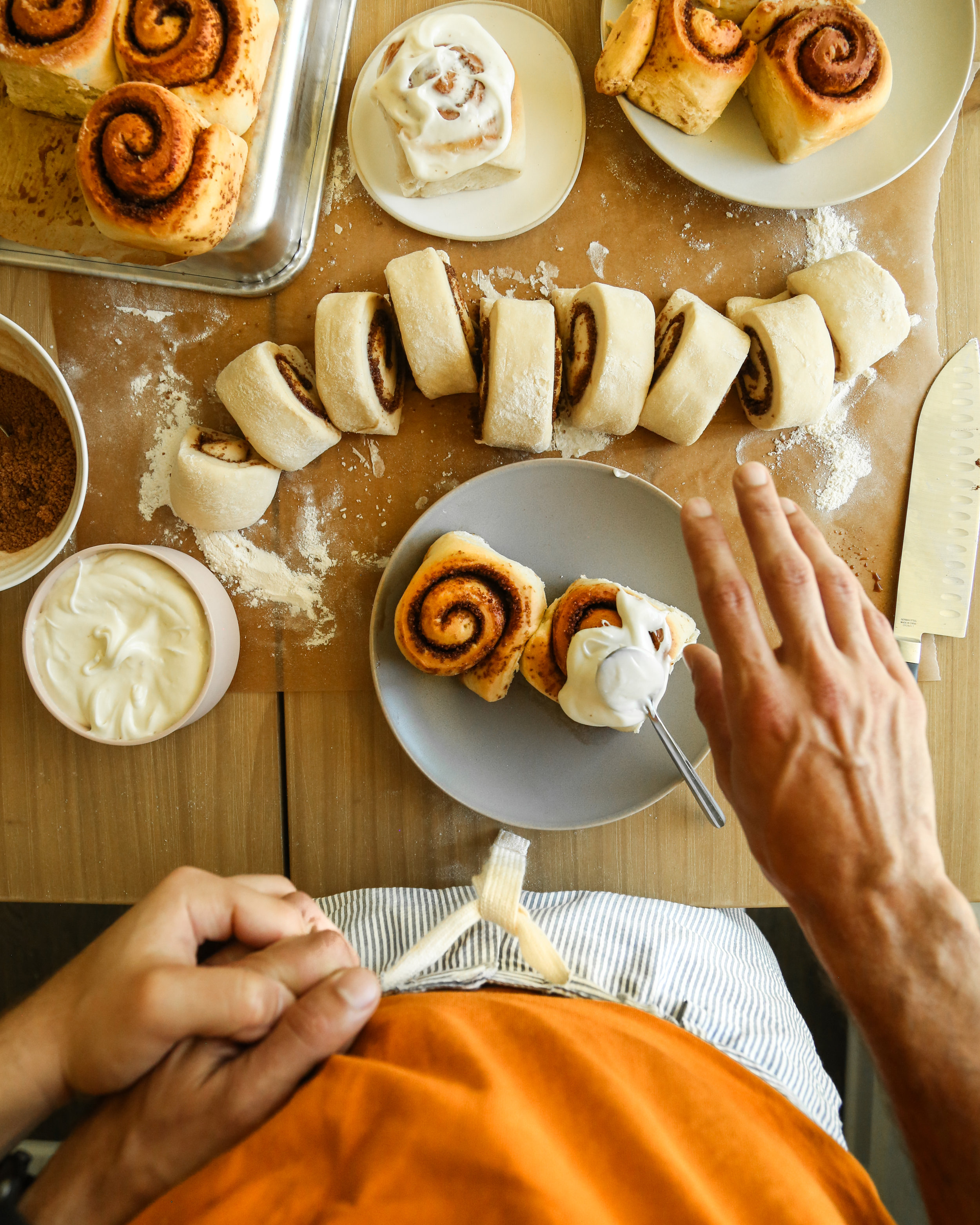 coconut oil cinnamon rolls