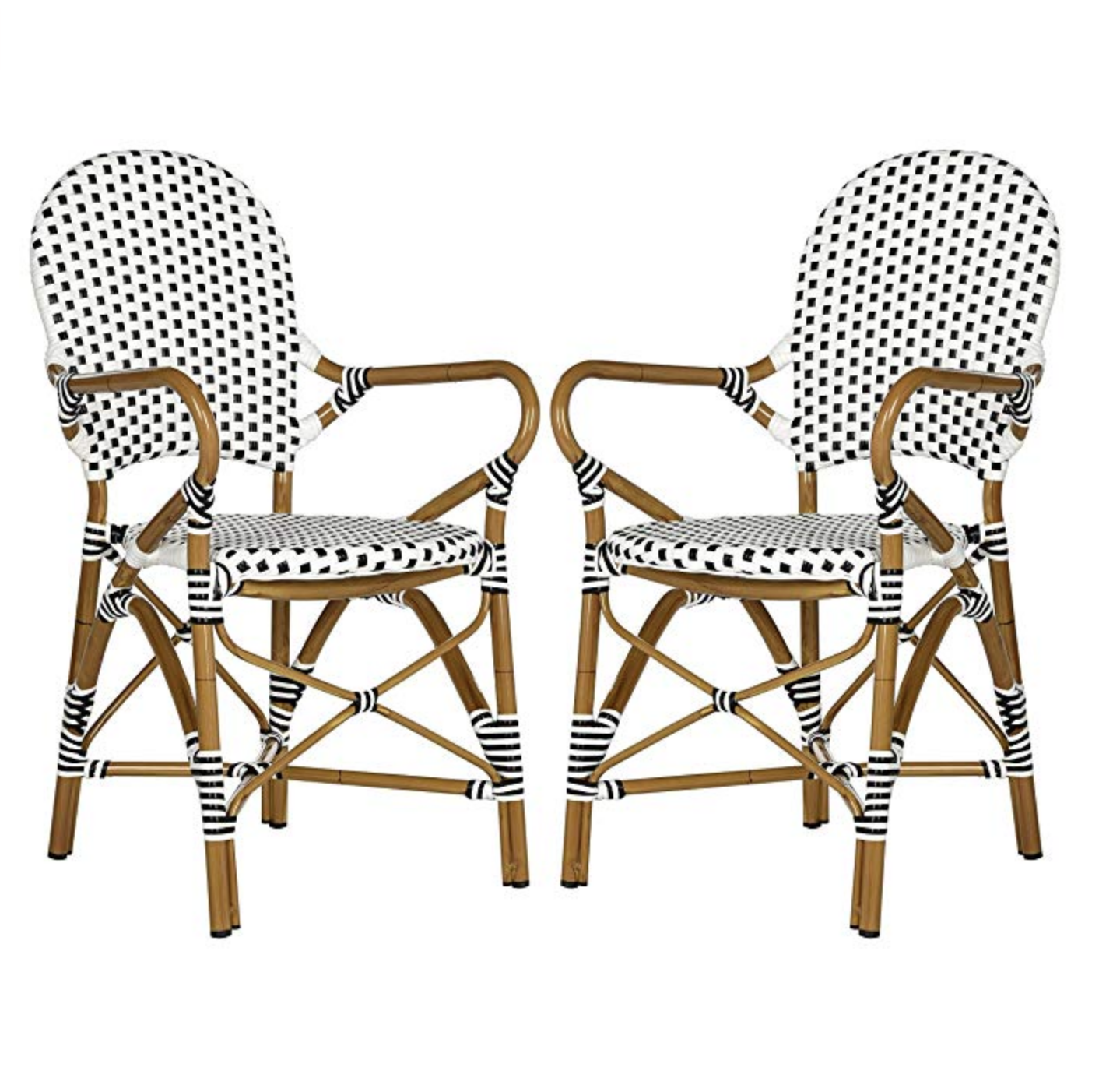 Hooper Stacking Arm Chair (set of 2)