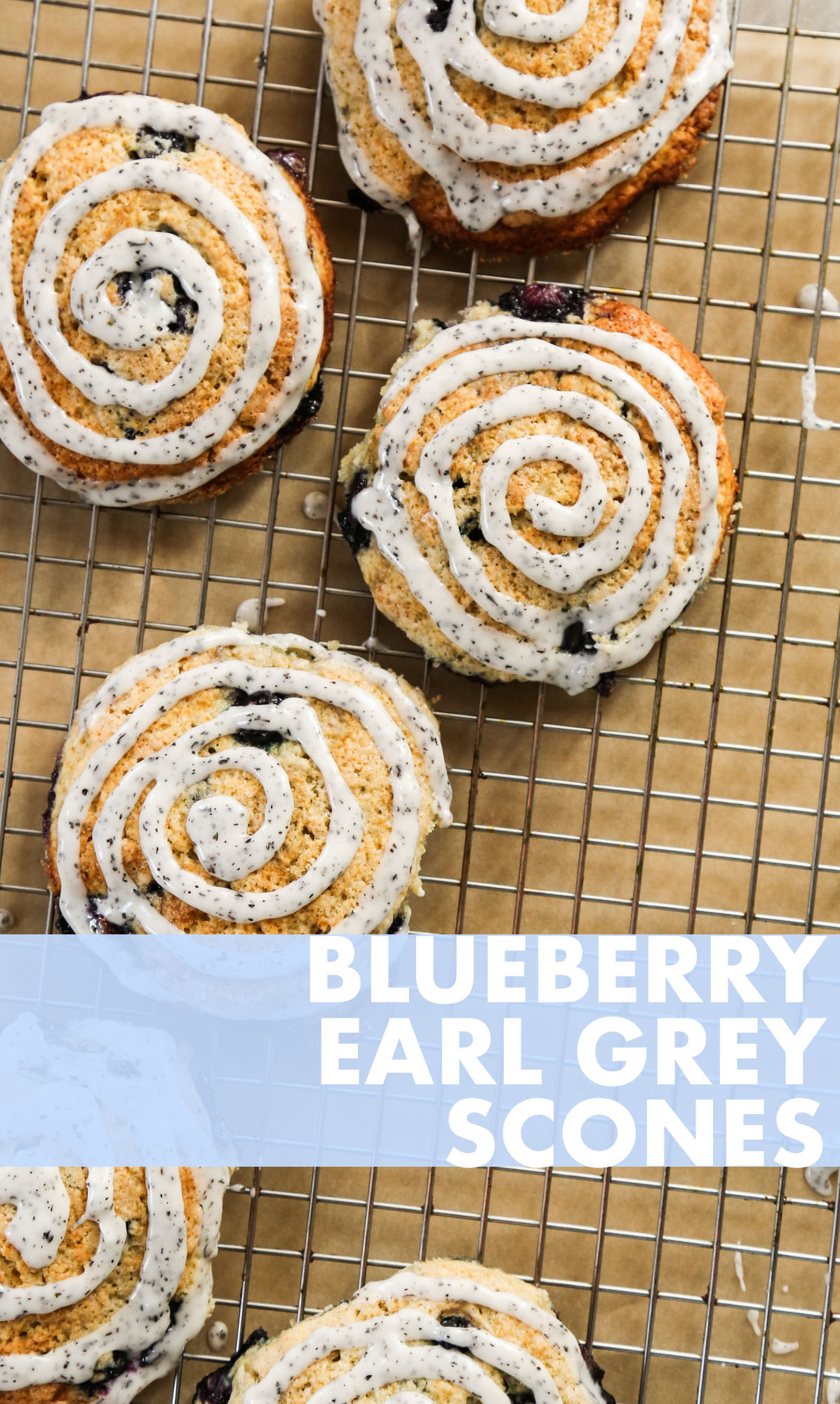 blueberry earl grey scones