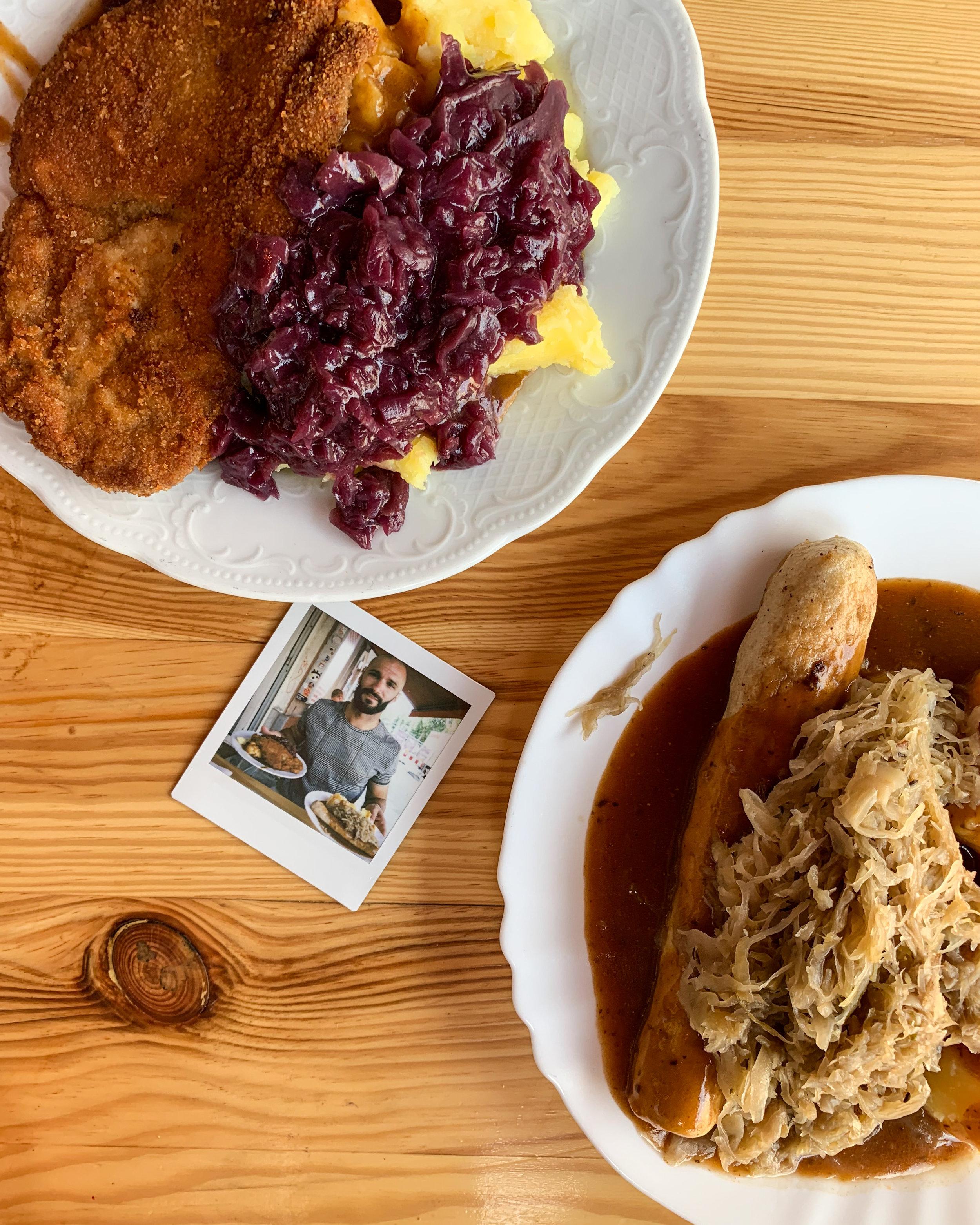 Schnitzel & Bratwurst