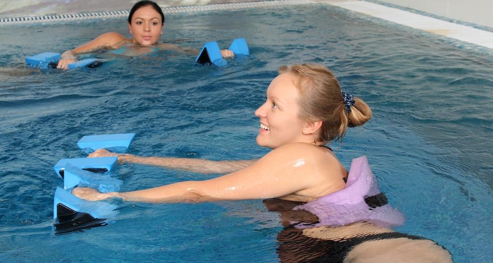 Antenatal aqua aerobics