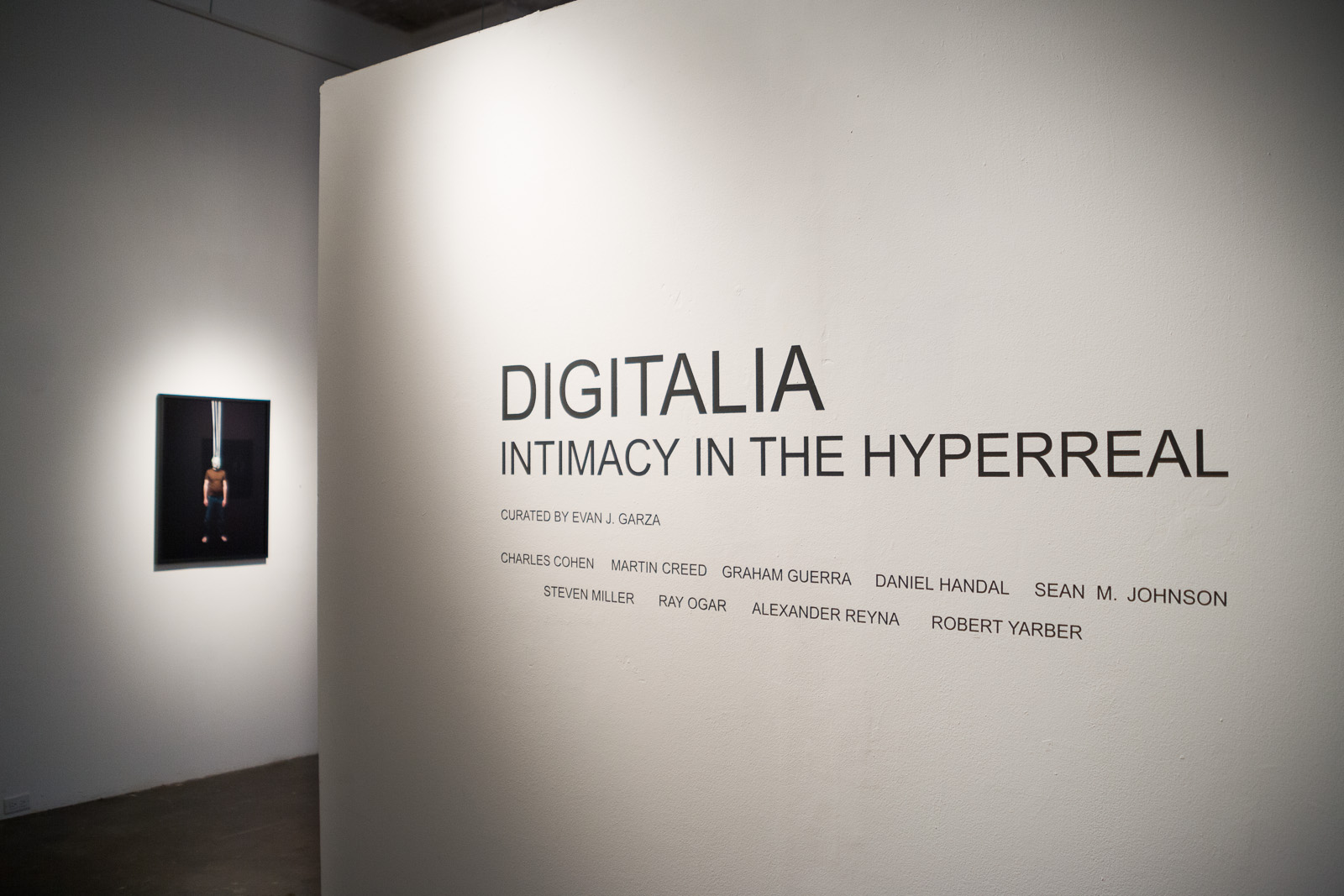 Bound  in  Digitalia Intimacy in the Hyperreal  at Deborah Colton Gallery, Houston