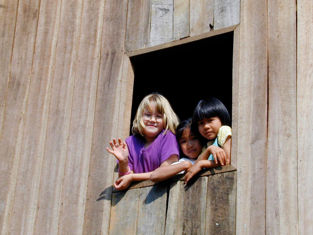 Growing up in a rural northern Thai village.