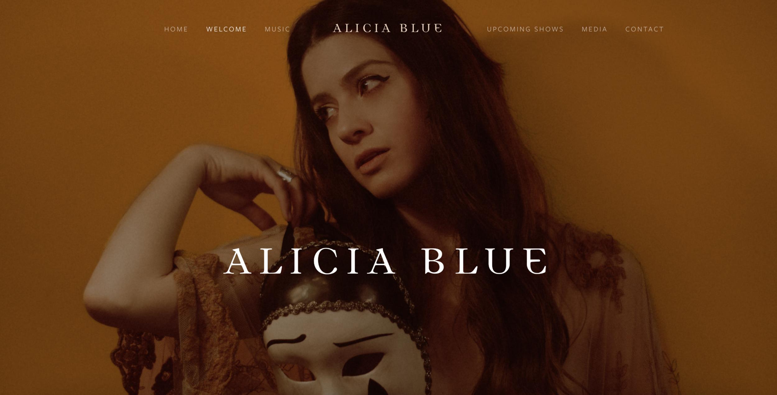 ALICIA BLUE