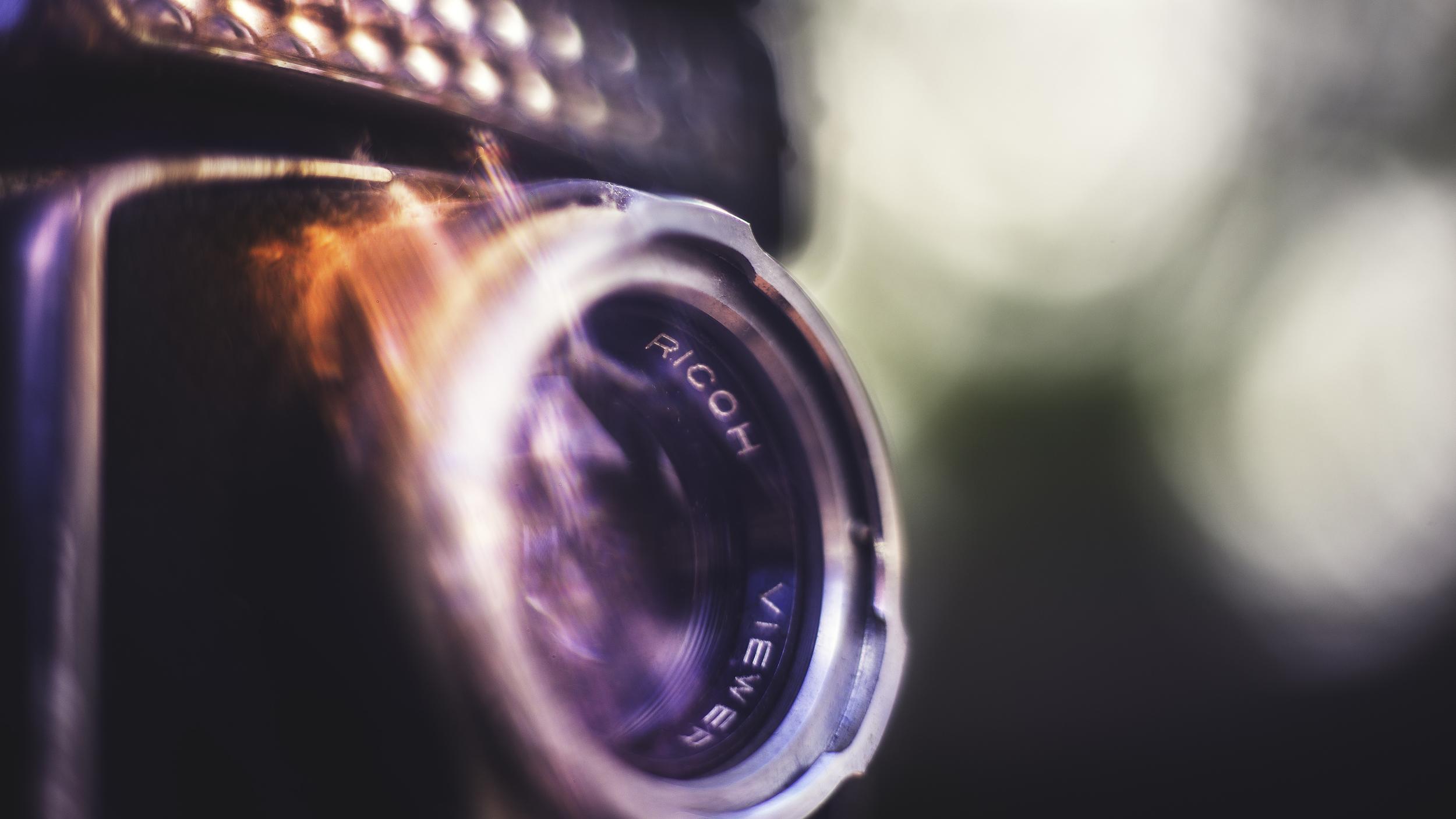 RicohCamera   Shot on lensbender