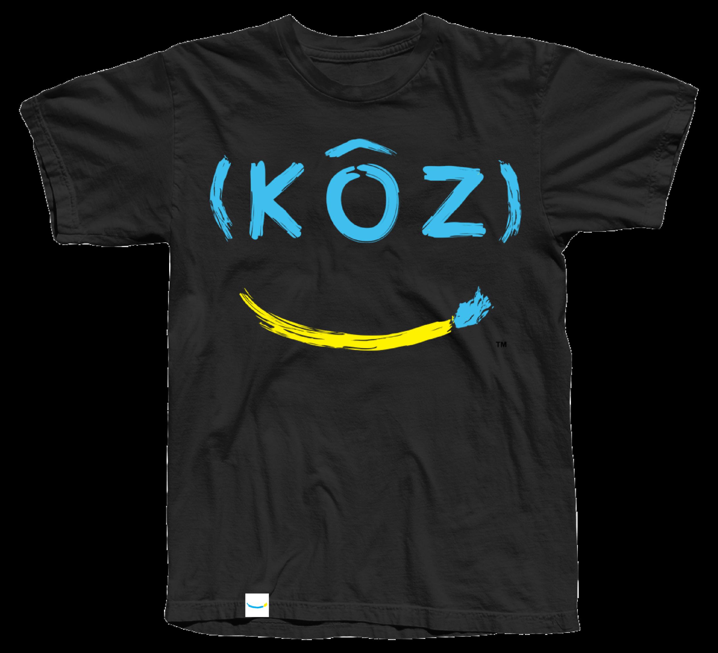 blue label koz designed